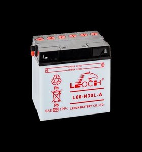 Leoch motobatterij L60-N30L-A