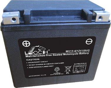 Leoch motobatterij  MX12-4 (ETX12)