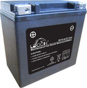 Leoch motobatterij  MX14-4 (ETX14)