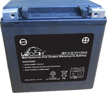 Leoch motobatterij  MX14-3 (ETX14L)