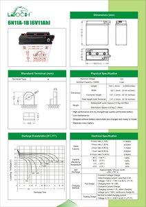 Batterij 6N11A-1B
